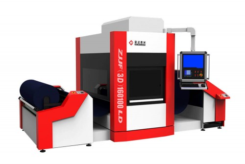 Galvo Roll to Roll Fabric Laser Engraving Machine