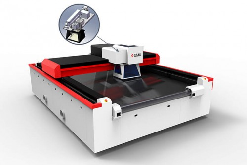 Galvanometer Laser Machine for Fabric Perforating, Engraving, Cutting