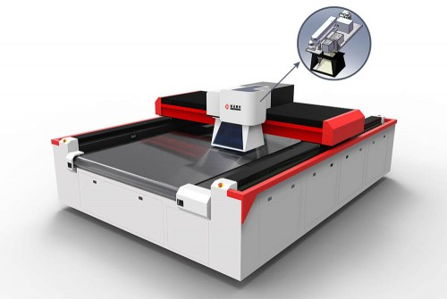 Gantry & Galvo Integrated Laser Cutting and Marking Machine