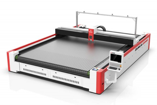Large Format Laser Cutting Machine for Banners, Graphics, Soft Signage