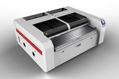 Independent Dual Heads Laser Cutting Machine for Leather