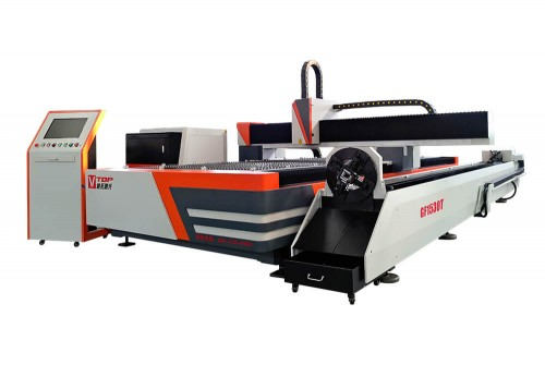 Metal Sheet and Tube Dual-Use Fiber Laser Cutting Machine
