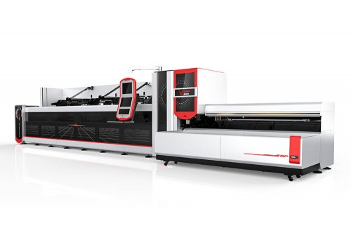 Automatic Bundle Loading Tube Laser Cutting Machine