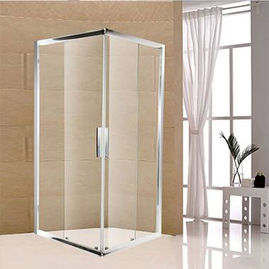 Two Fixed Two Rectangle Sliding Shower Enclosure