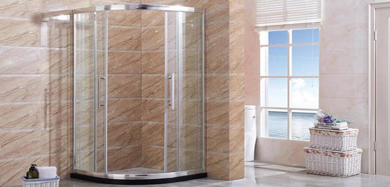 Two Fixed Two Arc Sliding Shower Enclosure