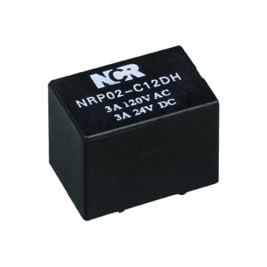 Factory Cheap Hot 3ua Thermal Overload Relay - PCB Relays-NRP02 – NCR INDUSTRIAL