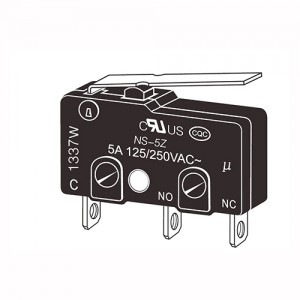 Best Price for Female Electric Motor Terminal - Micro Switches-NS-5Z – NCR INDUSTRIAL