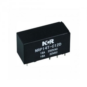 Wholesale Price Plug Terminal Connectors - PCB Relays-NRP14T – NCR INDUSTRIAL