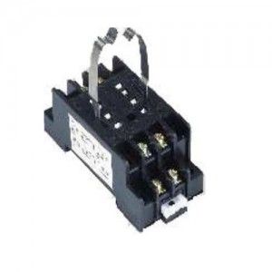 100% Original Black Relay Socket - Sockets for Relays-TP58X – NCR INDUSTRIAL