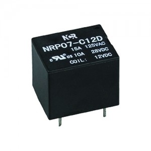 Manufacturer of Compressor Solid State Relay - Automotive Relays-NRP07 – NCR INDUSTRIAL