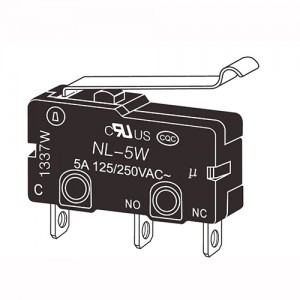 China Factory for Starter Solenoid Relay - Micro Switches-NL-10W – NCR INDUSTRIAL