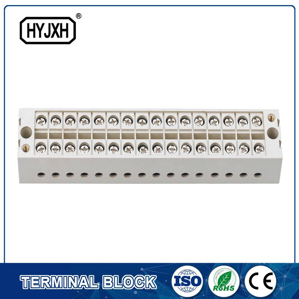 din rail type self-elevating connection Terminal Block