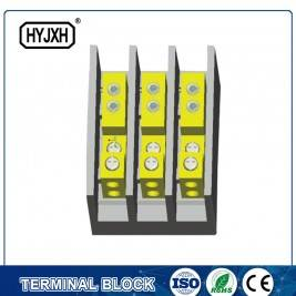 (hole insertion type) Three phase three wire large current high temperature multichannel output connection terminal block for measurement box