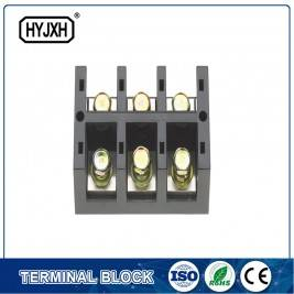 Three phase three wire large current high temperature multichannel output connection terminal block for measurement box