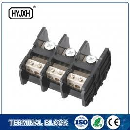 (200A)din rail type three phase three wire connection terminal block
