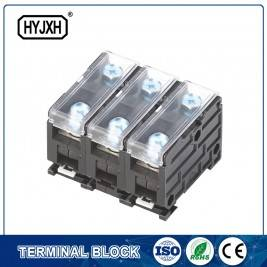 din-rail type composite Three phase three wire connection terminal for metering box