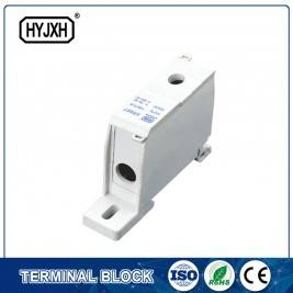 FJ6S-1 one-inlet multi outlet DIN rail  type  connection terminal block(elaborate type) inlet wire : 10-35 mm sq