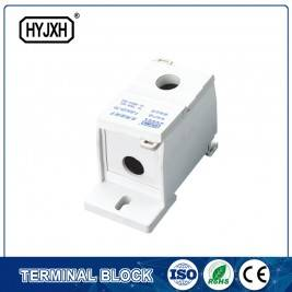FJ6S-1 one-inlet multi outlet DIN rail  type  connection terminal block(elaborate type)inlet wire : 25-70 mm sq