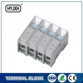 FJ6-JTS2EB Three Phase four Wire DIN rail type connection terminal max inlet wire : 25 mm sq