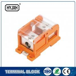 DIN rail type Multi-purpose energy measuring terminal block (Max inlet diameter 185 SQMM)