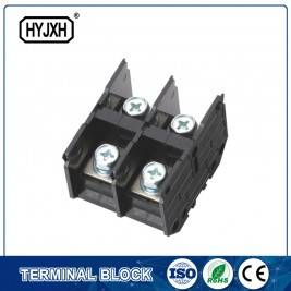 (200A) Din Rail Type Single Phas Zwee Inlet, Multi-Outlet Verbindung Klemmblock fir Meterbox