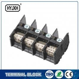 (300A) Din rail type Three phase four wire connection terminal block for metering box