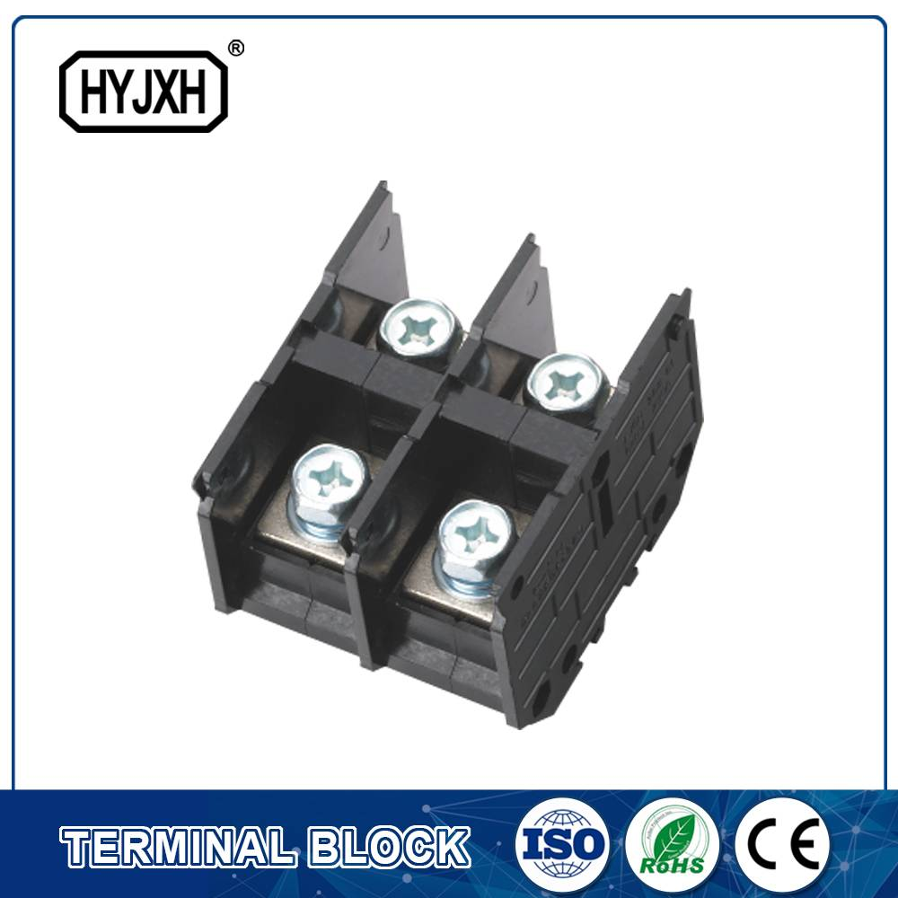 (300A)din rail type three phase three wire connection terminal block