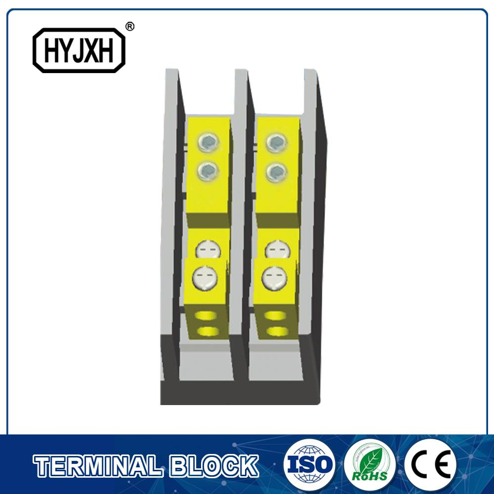 (hole insertion type)Single phase large current high temperature multichannel output connection terminal block for measurement box
