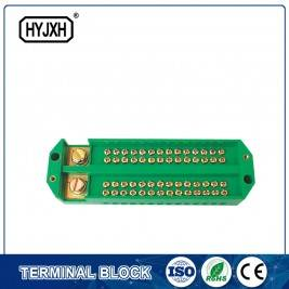 Hot Selling for Brass Ground Neutral Bar  Electrical Terminal Block Brass Terminal With Screw Assembly