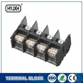 (200A) Din rail type Three phase four wire connection terminal block for metering box