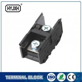 (200A) Din Rail Type Single Phase One-Inlet Multi-Outlet Verbindung Klemmblock fir Meterbox