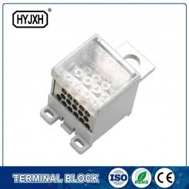 High Performance Double Row Screw Terminal Block -
