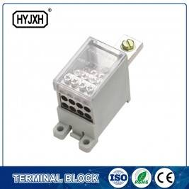 Special Design for Din Rail Type Large Current Terminal Block -