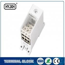 FJ6Q-1 din rail type self-elevating Power Distribution ferbining terminal blok