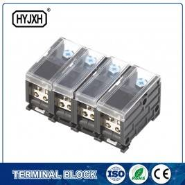 din-rail type composite Three phase four wire connection terminal for metering box