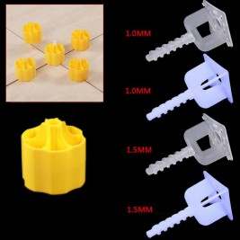 New tile leveling tool yellow screw-type tile leveling system use for tiles and walls tile leveling clips