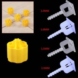 High quality Screw ceramic tile floor and wall tile leveling system plastic tile spacers
