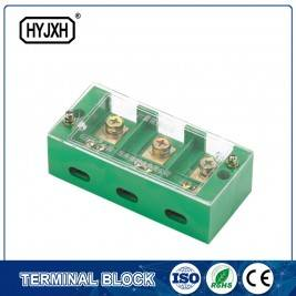 2 Special connection terminal block for three-phase meter box