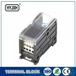 din rail type single pole connection terminal block for metering box