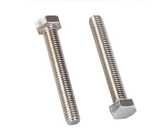 High Quality AISI SS316 SS304 Stainless Steel Hex Head Bolt DIN933 DIN931