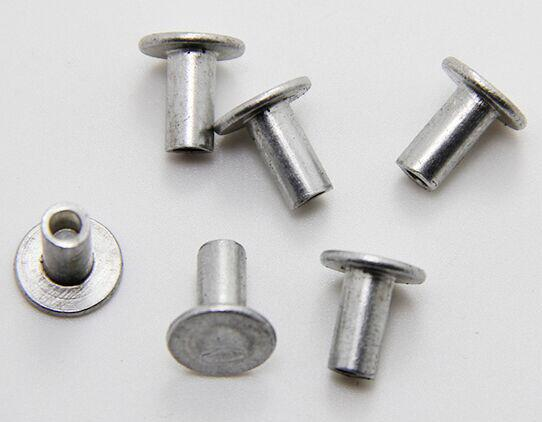 Round Head Semi Tubular Steel Hollow Rivet