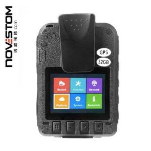 NVS4-B police body worn cameras with 4G wifi GPS optional