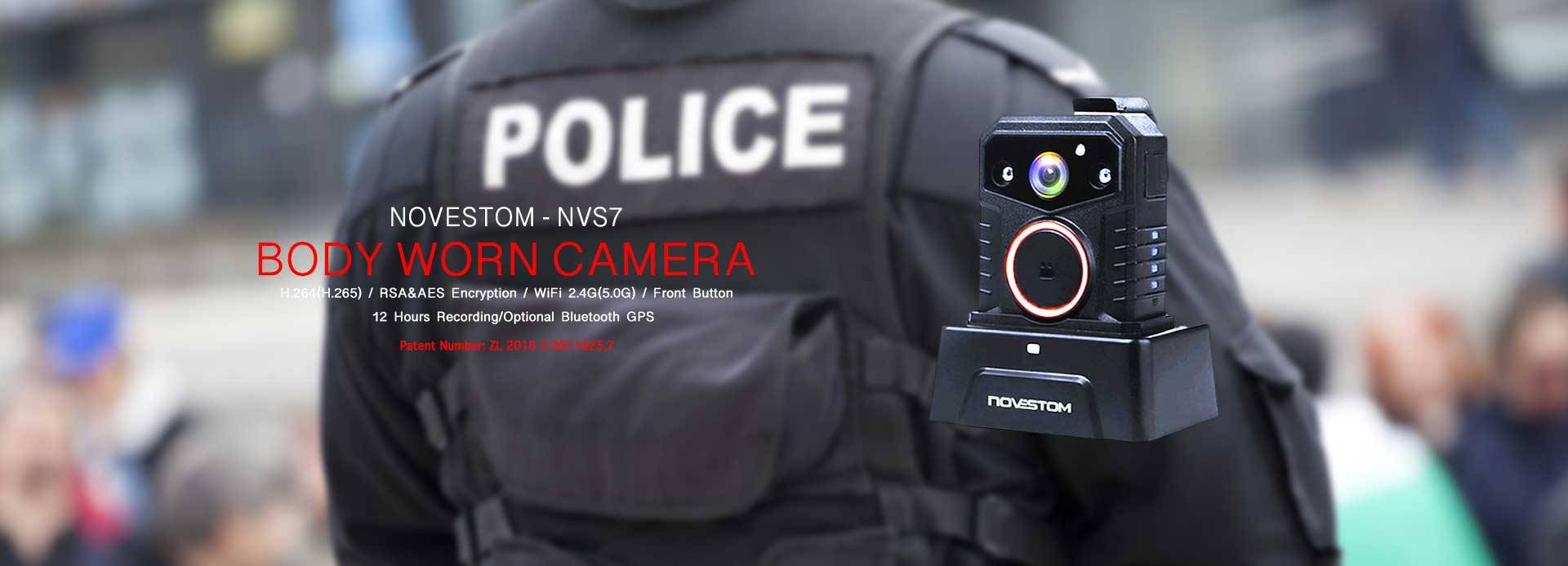 NVS7 wifi police style body worn video security cameras