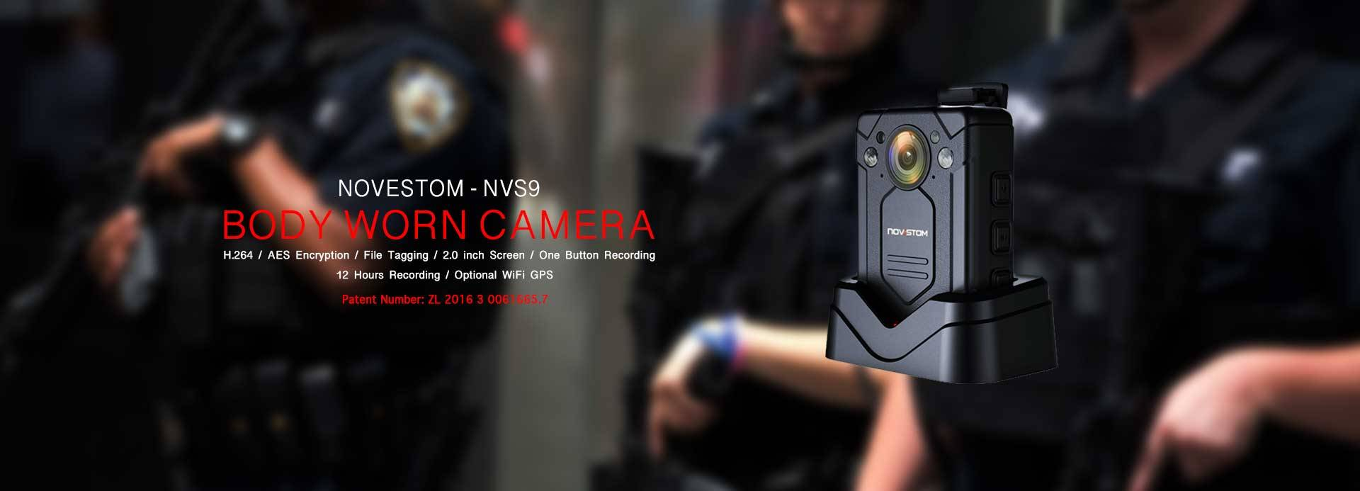 NVS9 body worn wearing video Police security cameras