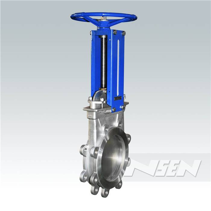 Factory making Manual Hygienic Butterfly Valves -
