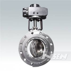 Excellent quality Metal Sealing Butterfly Valve -