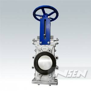 OEM Supply Offset Seat Butterfly Valve -