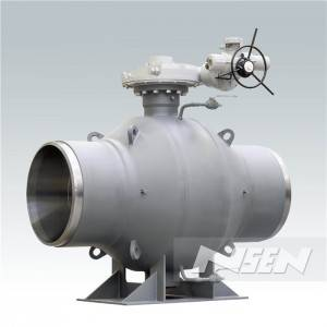 factory Outlets for Triple Offset Lug Butterfly Valve Gear Drive -