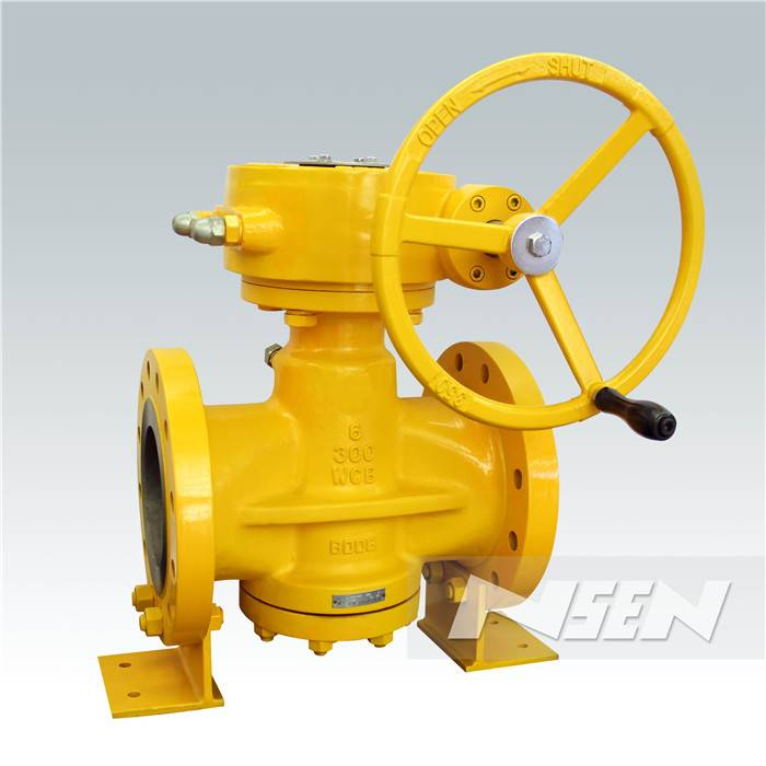 China OEM Ebro Triple Offset Butterfly Valve -