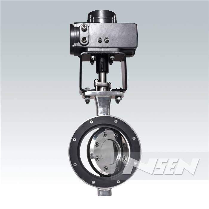 Wholesale Price Eccentric Flange Butterfly Valves -